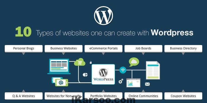 اموزش طراحی سایت با وردپرس: انواع سایت هایی که می توان با وردپرس ساخت