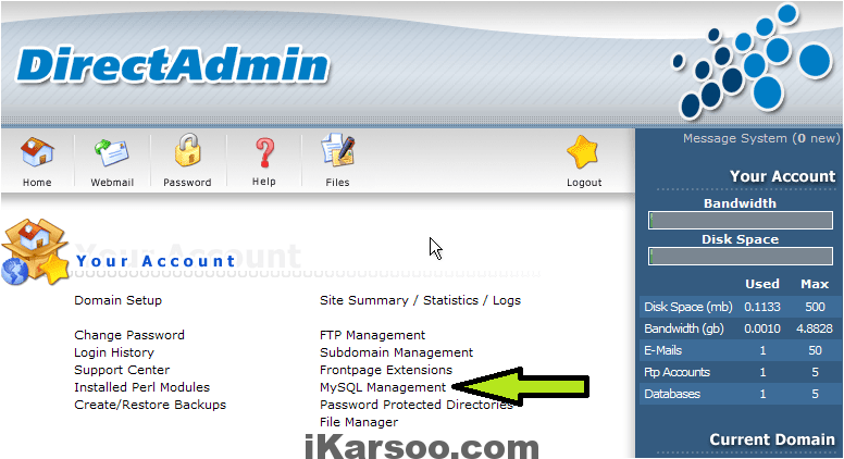 تغییر پیشوند پایگاه داده وردپرس با phpmyadmin