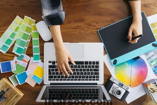 ایده کسب درامد اینترنتی: ایده طراح گرافیک انلاین