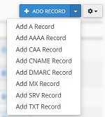نصب سرچ کنسول : اضافه کردن رکورد TXT