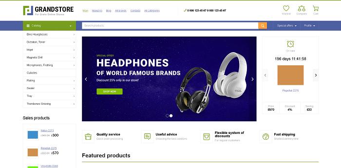 سایت ازمایش شده برای تست ووکامرس برای تعداد محصولات زیاد