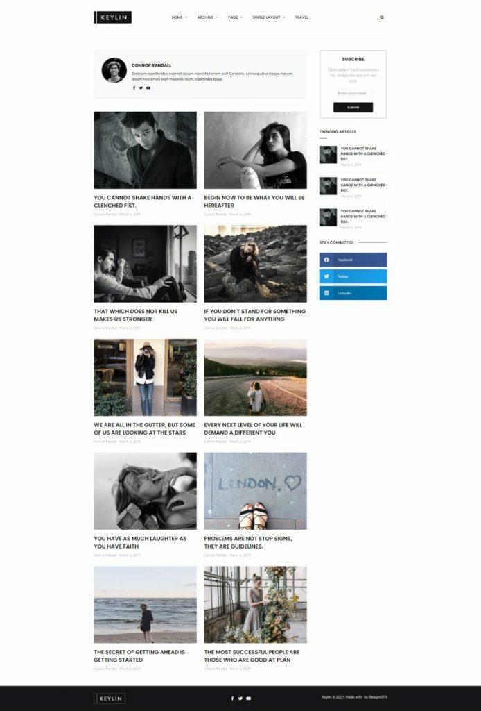 قالب المنتوری وبلاگ و مجله ای Keylin-keylin+Author_1-min